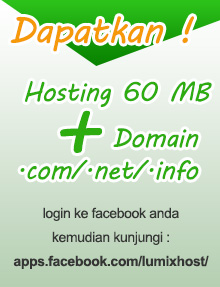 Promo Hosting Domain